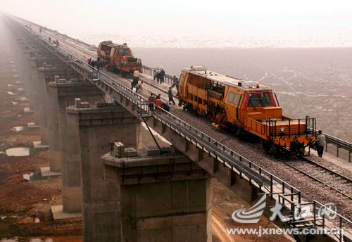 南昌铜九铁路全线贯通 预计3月20日通车(组图)