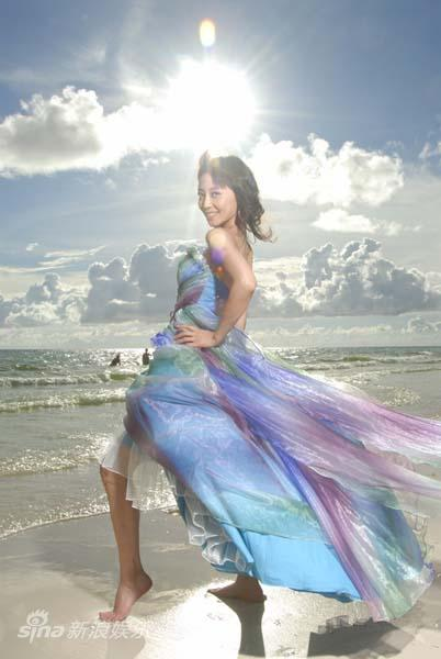 图文:张茜菲律宾写真-性感的女郎