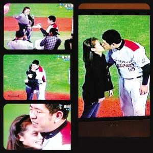 台谐星NONO求婚成功与女友热吻欧弟将任婚礼伴郎