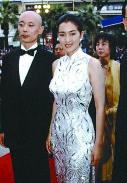 1994年,巩俐与葛优戛纳行。