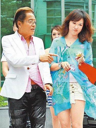 高凌风(左)与金友庄现已离婚,对孩子教育曾有歧见