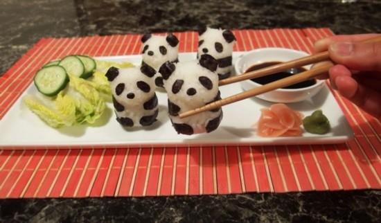 卡通寿司看一眼心就暖了这绝对是治愈系美食