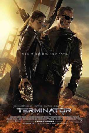 《终结者5》金门父女版海报