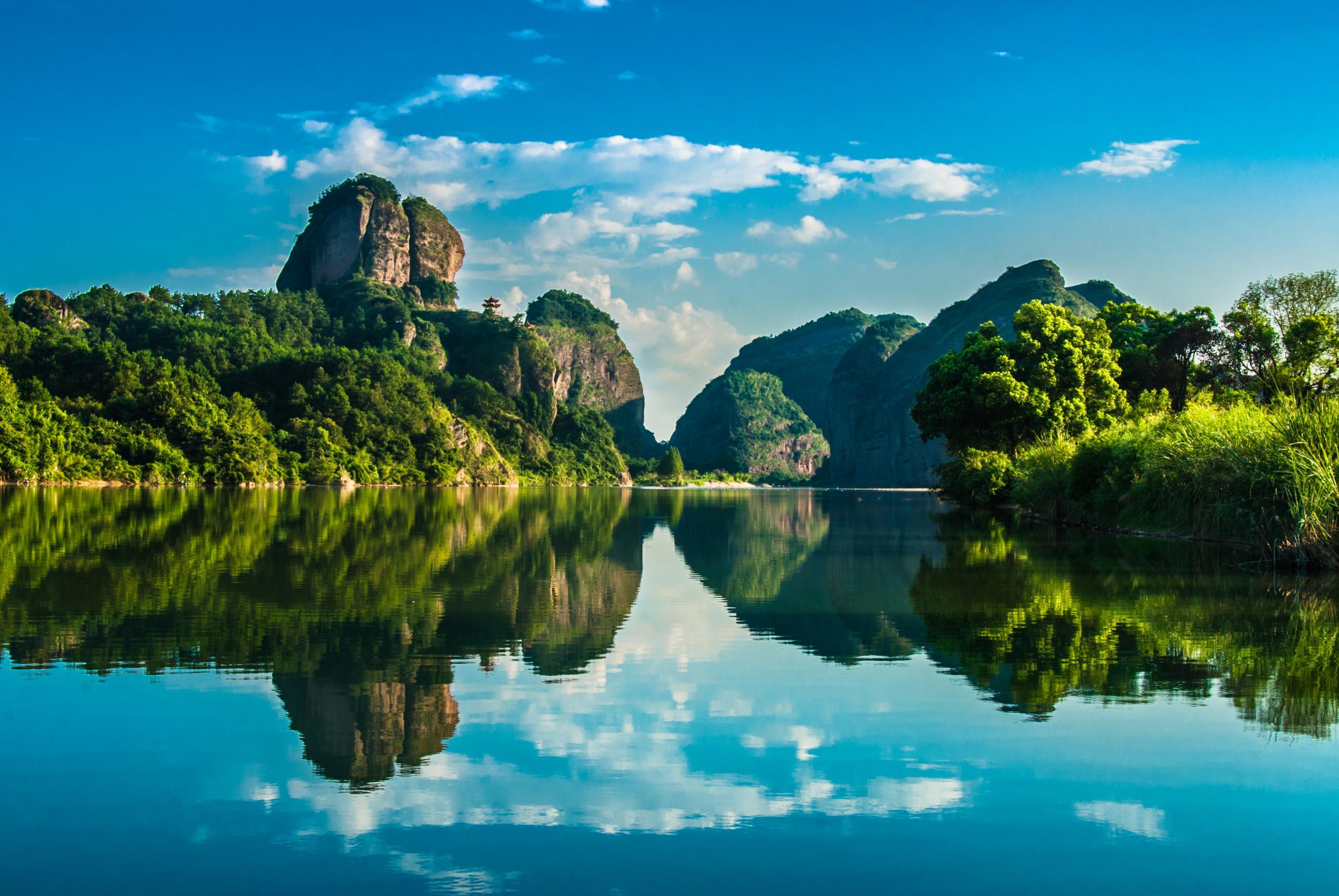 景物描写_江西龙虎山最佳摄影旅游线路-两天半旅游路线-江西旅游