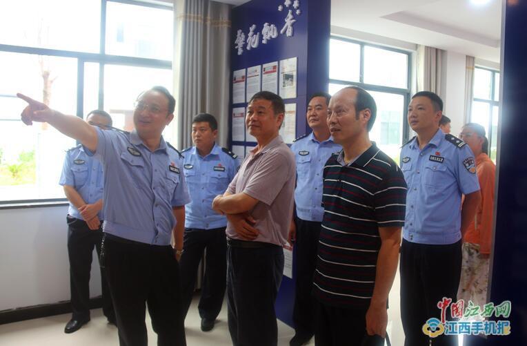 江西省厅出入境管理局到三清山开展考评验收