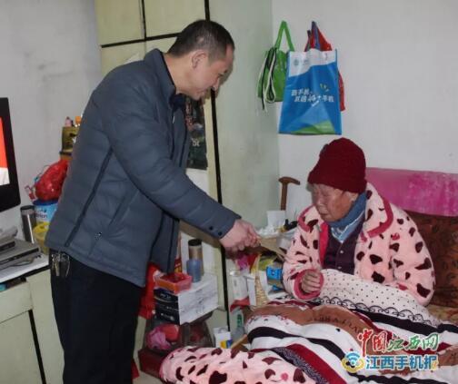 上饶市环卫处:开展春节前走访慰问活动