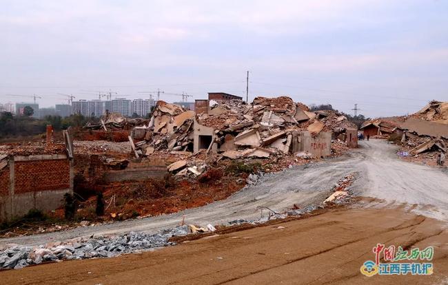 信州区委书记王其中再次调研重点项目建设情况