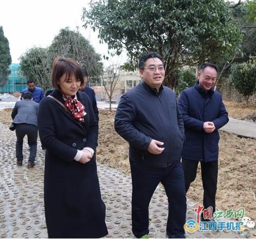 饶清华调研窑文化公园建设工作