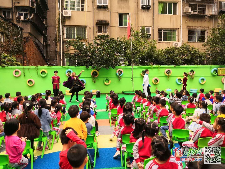 演绎童话 绽放童心 江西省直文化系统保育院组织