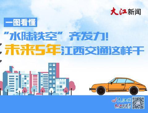 """一图看懂丨""""水陆铁空""""齐发力!未来5年江西交通这样干"""