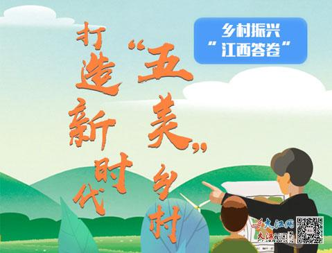 """打造新时代""""五美""""乡村 乡村振兴的""""江西答卷"""""""